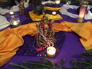 Interfaith 2015 altar